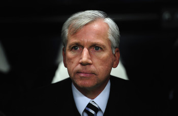 Alan Pardew has remained tight-lipped about solutions to his team's problems, which continues to frustrate fans.