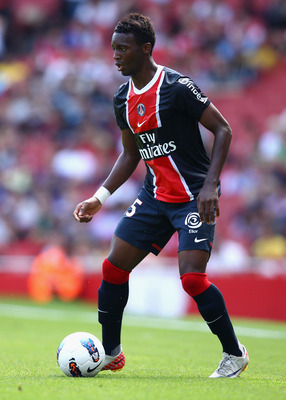 Jean-Christophe Bahebeck in action for his parent club