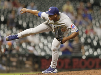 Carlos Marmol wasn't as terrible as it looked last season, but it would still be a good move for the Cubs to trade him away.