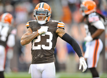 Browns top cornerback Joe Haden.