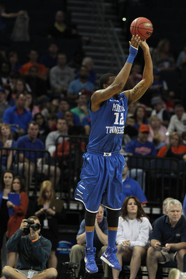 Junior Shawn Jones is one of two Blue Raiders averaging double-figures in scoring.