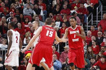 Tyler Brown (1) is leading the Redbirds in scoring with almost 20 points per game.