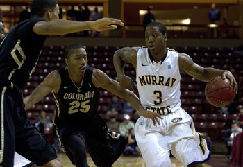 Super senior Isaiah Canaan leads the Racers with 22.5 points per game.