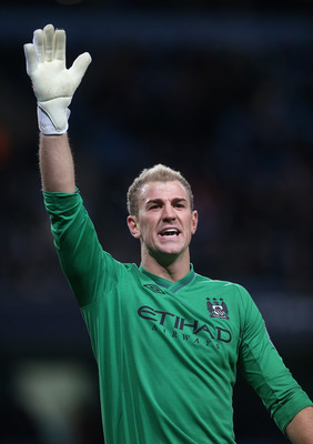 "Joe Hart: ""Pick me"""