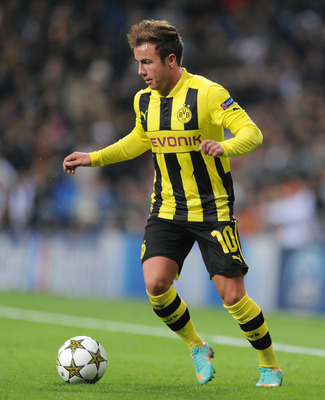 Mario Gotze could flourish with United