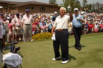 Lee Trevino always had a joke, even for a king.