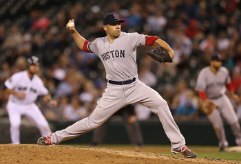 Alfredo Aceves will put up better numbers in 2013 as a middle reliver, instead of the Red Sox closer.