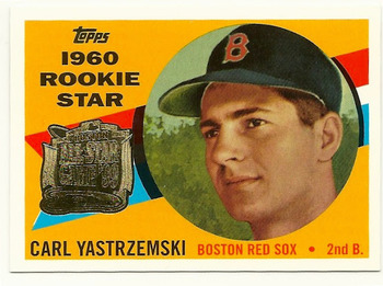 Carl Yastrzemski - Smiling for the Rookie Card