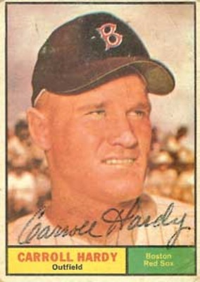Ted Williams, Carl Yastrzemski and Roger Maris were all Pinch-Hit for by Carroll Hardy
