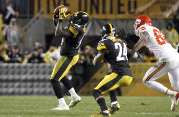 Lawrence Timmons's game-saving interception against the Chiefs was a rare takeaway.