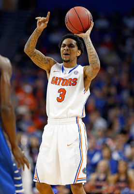 Rosario is one of two senior guards for Florida this year.