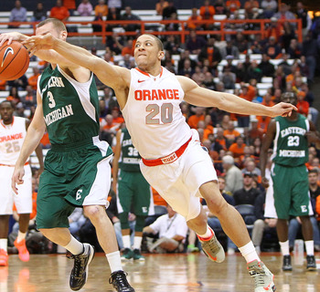 Triche has been a staple for the Orange for the last three years