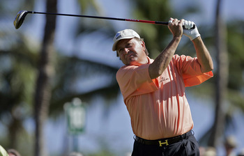 Raymond Floyd hit very few shots without a great deal of passion.