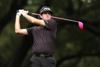 Bubba Watson gets his money's worth every time he swings the club.