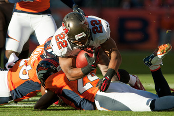 Rookie running back Doug Martin has had a sensational year in Tampa Bay.