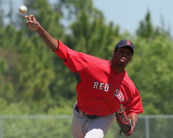 Celestino could become a middle reliever for many teams. Courtesy: Bostonsportsu18
