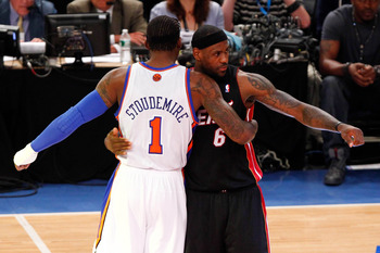 The Heat's stars respect Amare Stoudemire, but does he really make these Knicks better?