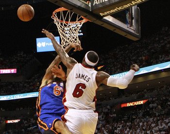 When engaged, the Heat defense, led by LeBron James, can be oppressive.