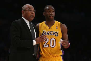 Bernie Bickerstaff brought some serenity and polished play to the Lakers as head coach before relinquishing the reins.