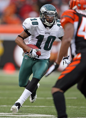 DeSean Jackson is one of the many injured Eagles stars in 2012.