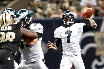Michael Vick's days as an Eagle are probably over.