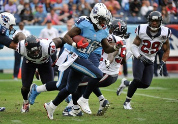 Chris Johnson will break 1,000 rushing yards in 2012.