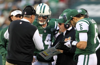 Mark Sanchez supported Greg McElroy in Week 13.