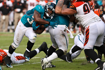 Jones-Drew only has 86 rushes in 2012.