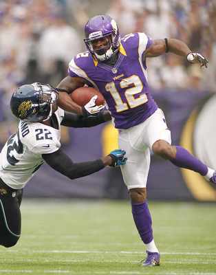 In nine games Percy Harvin has caught 62 passes for 677 yards with three touchdowns.