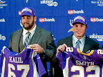 Matt Kalil and Harrison Smith are proving themselves very capable NFL players.