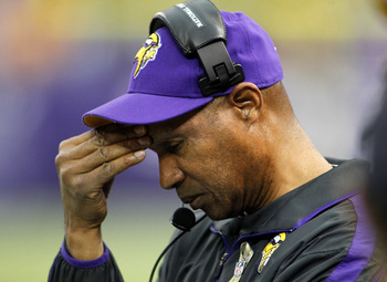 Leslie Frazier was under fire last season for his inability to maintain halftime leads.