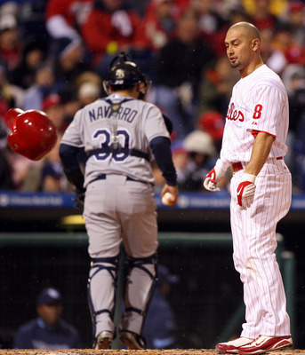 Victorino has struggled mightily against right-handed pitchers of late.