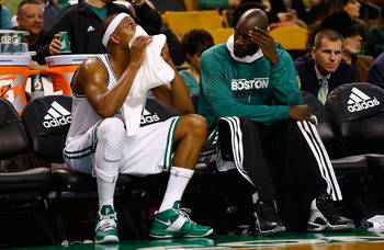 Pierce is still playing a young man's minutes, but extended time will eventually take its toll