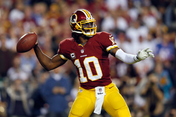 RG3 has thrown three 300-plus yard games this season.