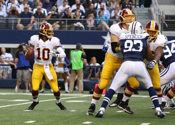 Pivotal to the recent success for the Redskins and the pistol-style offense.