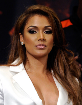 Mayweather's fiance, Shantel Jackson, has been ringside at most of Mayweather's most recent fights and has been a consistent presence on HBO's 24/7.