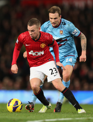 Can Cleverley make the Sir Alex forget about Sneijder and Gotze?