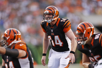Andy Dalton has stepped his game up since the Bengals' 3-5 start.