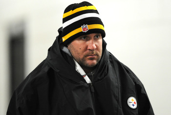 Steelers fans would much rather see Roethlisberger in uniform.