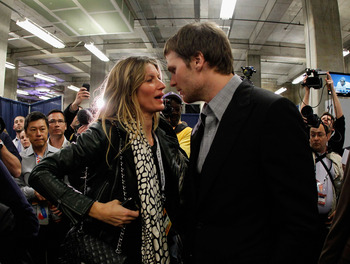 I'm also confident in Tom Brady's taste in women. Hi, Gisele!