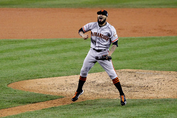 Sergio Romo was lights-out in the playoffs in 2012.