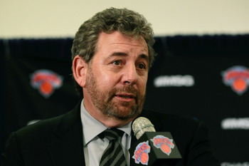 New York Knicks owner, James Dolan