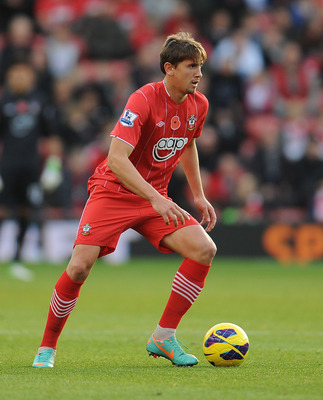 Gaston Ramirez is quite adept at finding Southampton attackers cutting through opposing defenses.