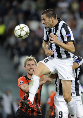 Bonucci in action.