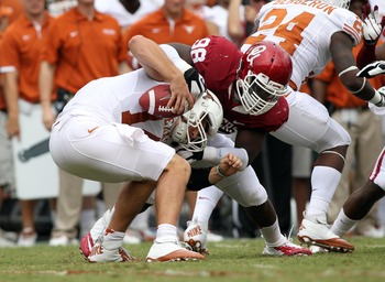 Chuka Ndulue will be one of the only returners for the Sooners on the defensive line.