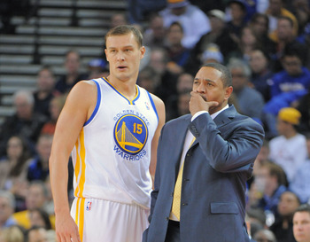 Golden State Warriors Andris Biedrins