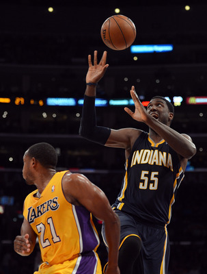 Roy Hibbert now afraid of the ball