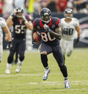 Andre Johnson has been among the league's best WRs in 2012.