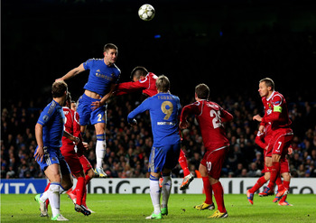 Cahill jumped highest to score from Juan Mata's free kick.