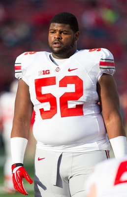 Johnathan Hankins is the Buckeye most likely to go to the NFL early.